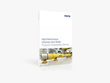 Katalog für Hochleistungs-Gelenkwellen von Voith Turbo