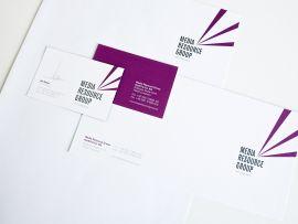 Geschäftsausstattung für die Media Resource Group