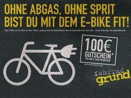 E-Bike-Kampagne für die Bikegroup