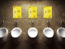 Ambient-Kampagne für Engel