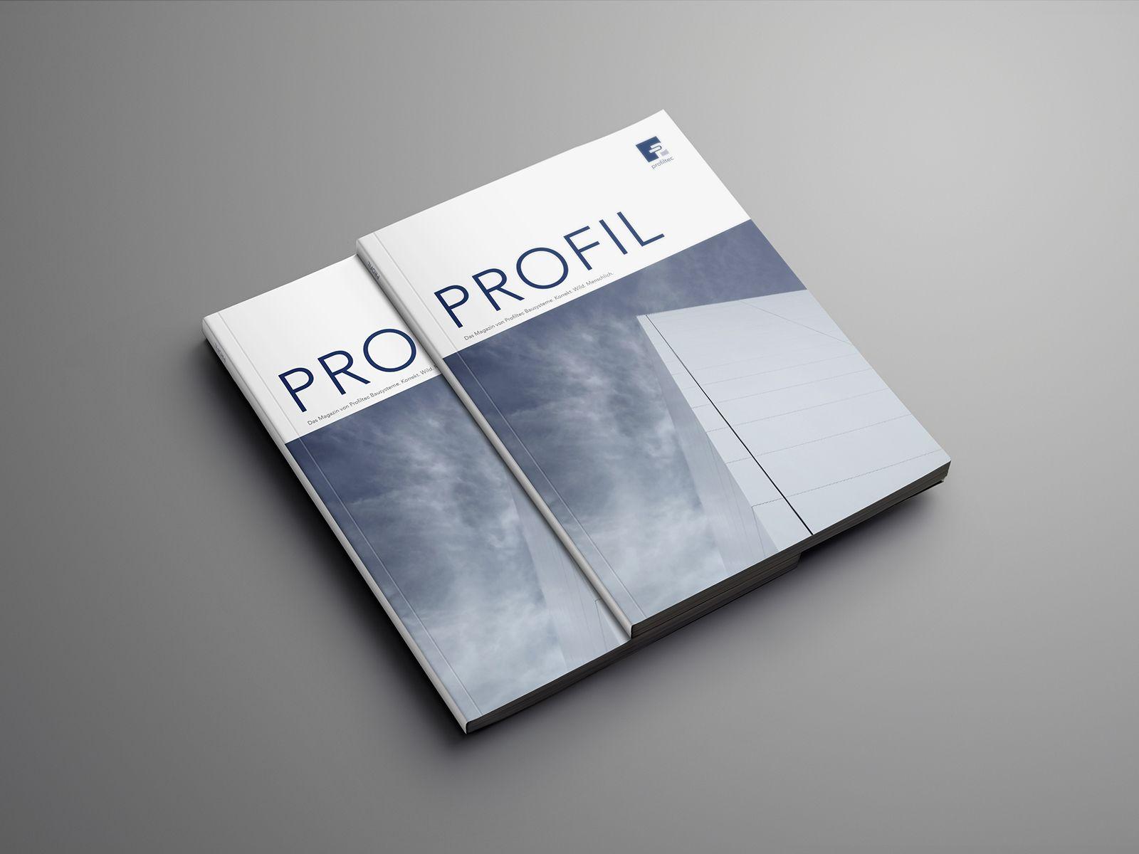 Kundenmagazin für profiltec